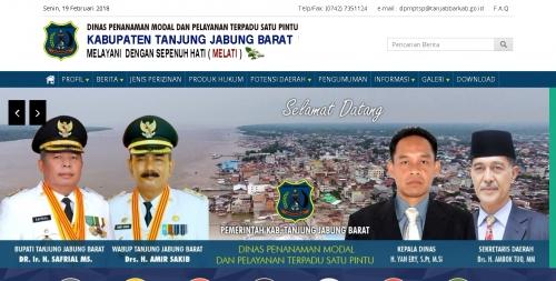 Official DPMPTSP Tanjabbar (dpmptsp.tanjabbarkab.go.id)