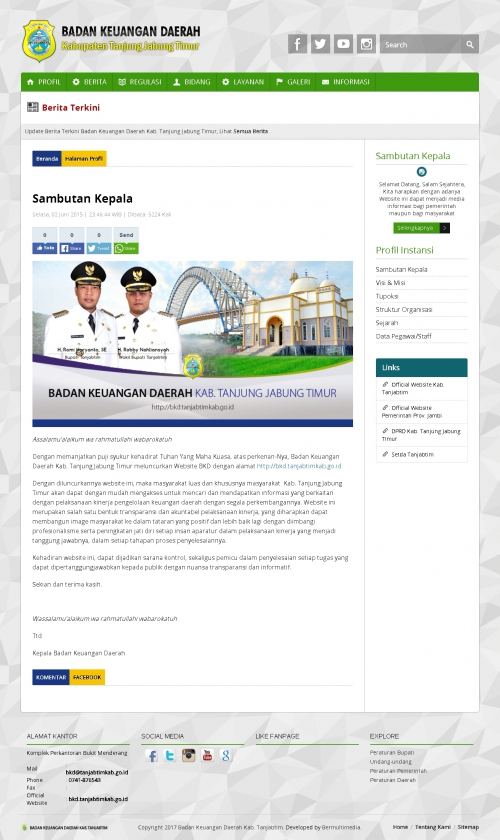 Badan Keuangan Daerah